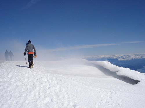 Caminando por la cima
