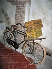 Bicycle (Allan Clarke) Tags: old netherlands beer dutch amsterdam bicycle nederland delivery bier brewry