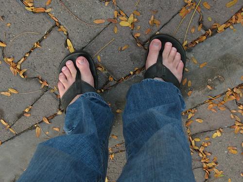 My feet, Santa Ana
