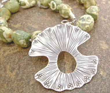 Rhyolite Soul Pendant Necklace