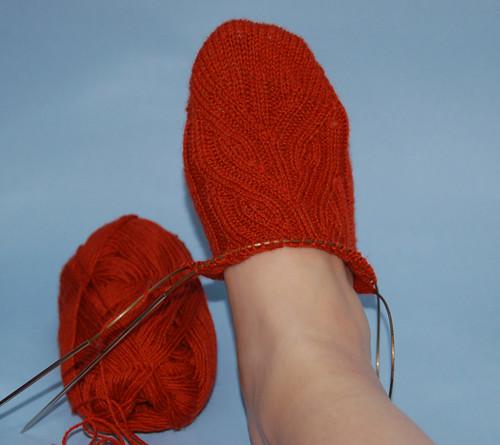 Vinnland Socks WIP