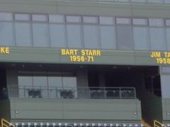 Bart Starr (blakemjordan) Tags: packers greenbay lambeaufield