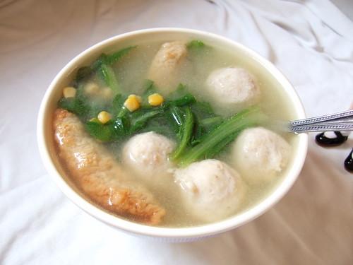 早餐 - 金玉滿堂味噌湯