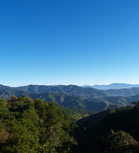 valley cordilleras mountain baguio city sky blue philippines travel dhon jason