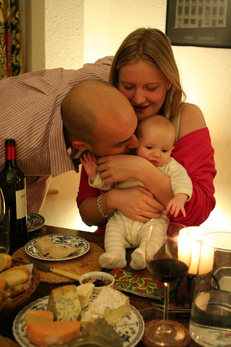 Parents & child; with cheese by slightlywinded, on Flickr