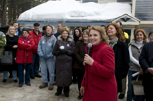 Elizabeth Edwards Campaigning in 2008