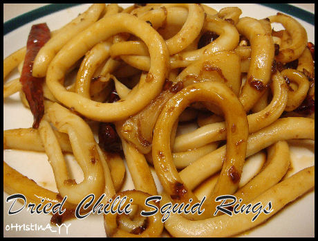 Dried Chilli Squid Rings