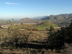 Image of the Tehachapi Railroad Loop by Airplane Journal on Flickr