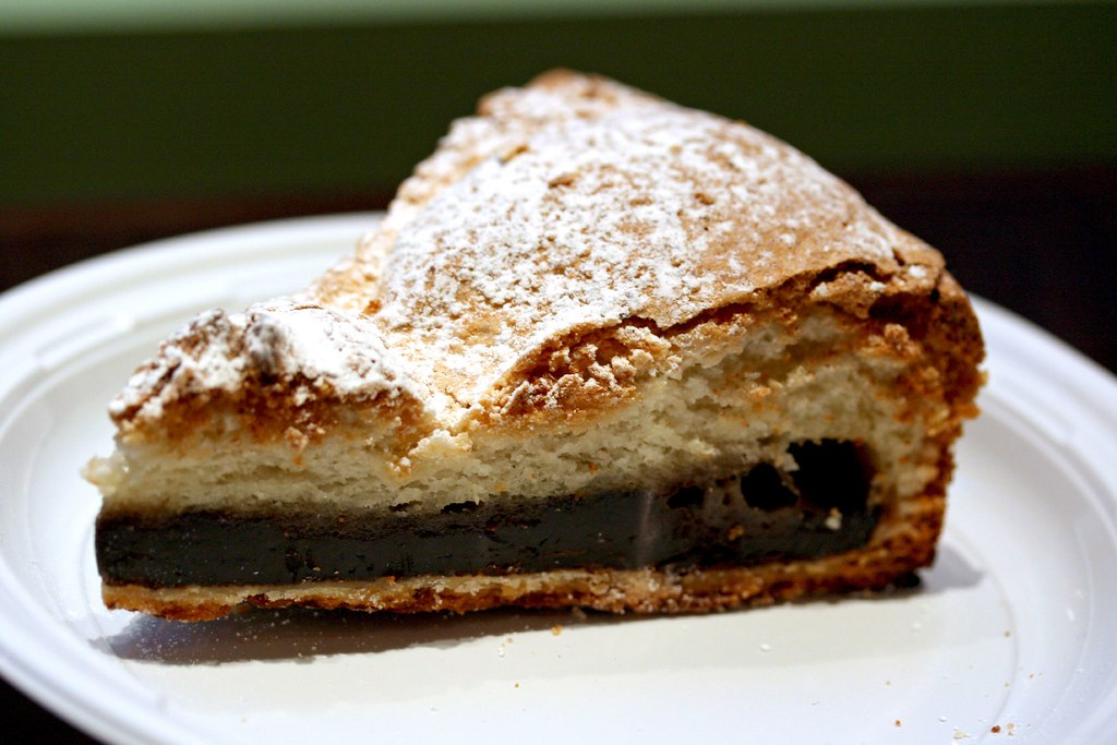 Chocolate Banana Dacquoise