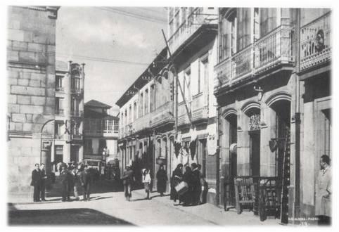 Rúa do Padre Feijoo.