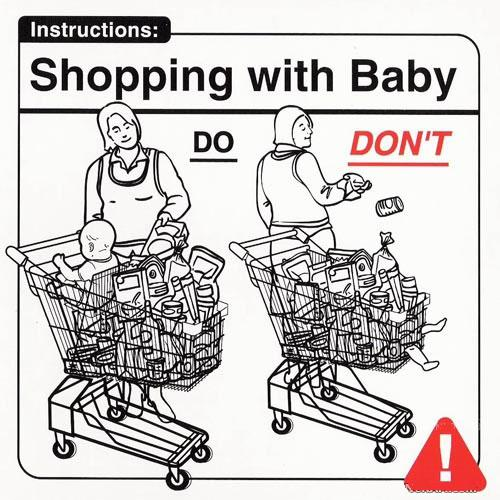shopping-with-baby
