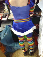 Foto155 (BankFrecker) Tags: nokia rainbow play cosplay kln regina cos regenbogen karneval brite 8gb rosenmontag klle n95 blumengarten phrancster n958gb