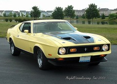 "1971 Mach 1 ""The Beast"" (AceOBase (thank you for 1.1 million views!)) Tags: classic ford car photography 1971 classiccar racing hotrod mustang musclecar coolcar yellowcar mach1 fordracing 71mustang worldcars 1971mustang"