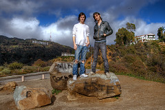 The Vacation: Ben and Steve Tegel (Brian Romero) Tags: losangeles band hollywood rocknroll hdr thevacation