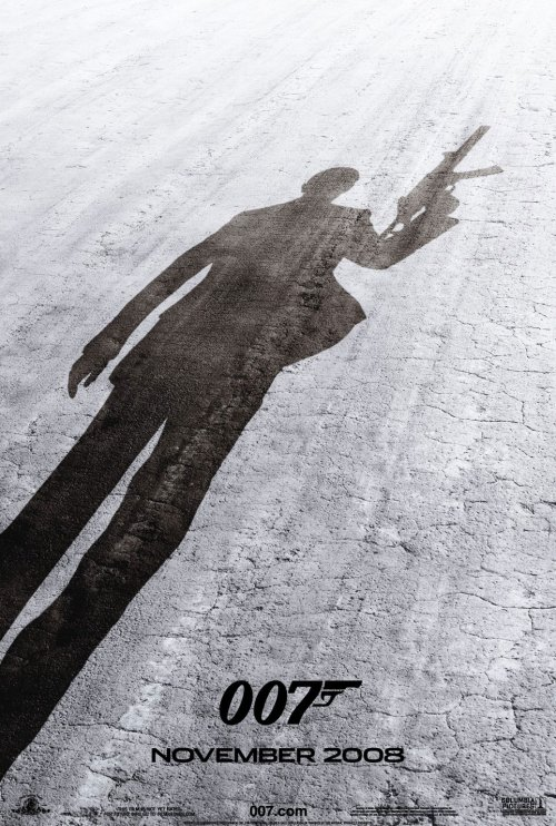 James Bond : Quantum of solace poster