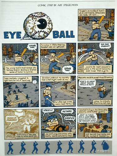 "Art Spiegelman on his amblyopia: ""Eye Ball"" from THE NEW YORKER"