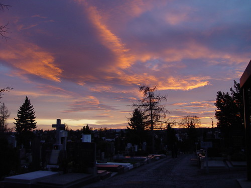 Friedhof am Abend