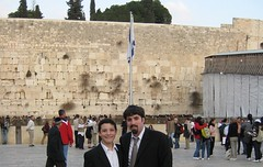 Avi & Barry at Kotel