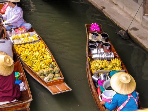 Floating Market, near Bangkok
