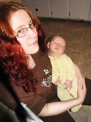 jhayne & baby xander