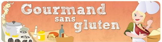 Bannière Gourmand sans gluten