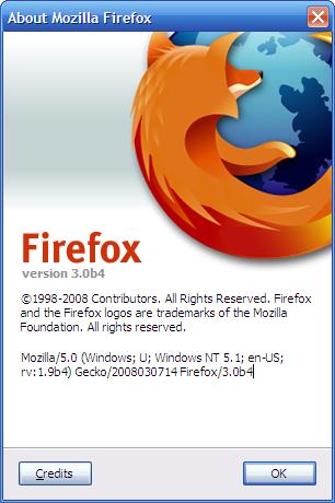 firefox 3 beta 4