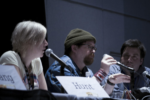 tara hunt, hugh macleod, david parmet at sxsw