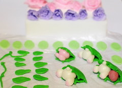 Fondant Decoration Staging Area