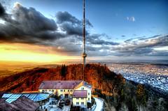 Good night Zurich! (Toni_V) Tags: sunset sky topv111 clouds switzerland topv333 europe hiking tripod zurich 2008 uetliberg hdr randonnée d300 sigma1020mm utokulm 5exp toniv gitzo1540 photomatix25 theperfectphotographer ©toniv 19032008