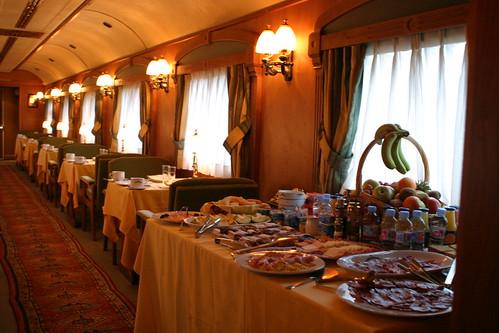 El Transcantabrico luxury train from the Luxury Train Club