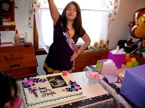 Sweet Sixteen, kayla