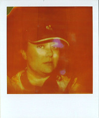 Expired Polaroid Self Portrait