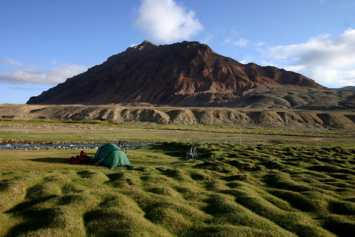 Tajikistan - the best camp site on earth