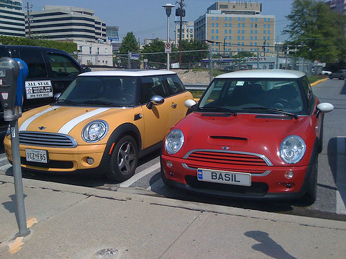 Two new MINI Coopers - Taken With An iPhone