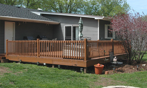 Deck Progress May 5, 2008