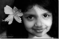 Bangladesh : Smile plz! (Shabbir Ferdous) Tags: portrait bw baby art smile kid photographer littlegirl bangladesh backandwhite bangladeshi canonef50mmf18ii canoneosrebelxti shabbirferdous shabbirspeople wwwshabbirferdouscom shabbirferdouscom