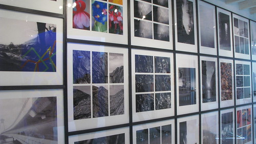 wall of karl hyde / rick smith photos