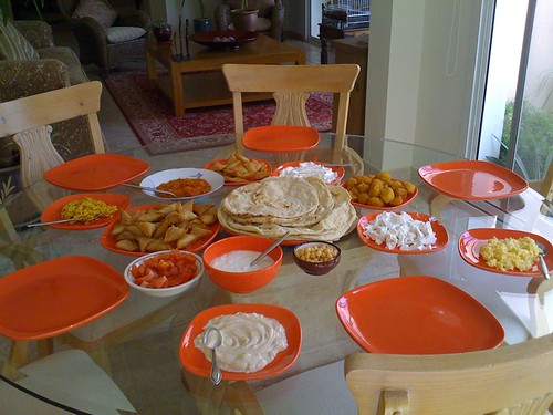 Friday Breakfast - the spread