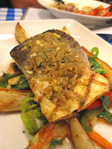 Italiannies-Grilled Salmon Oreganato
