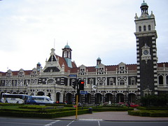 Old Railway Station in Dunedin