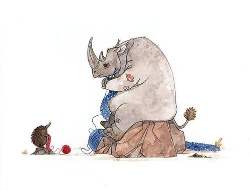 Rhino Knitting