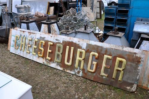 Cheeseburger Sign