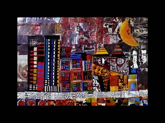 Cityscape (SoulSoundDuo) Tags: city cidade art collage denmark mixed media artist contemporary rene australia 2007 sinkjr sinkjar sinkjaer soulsoundduo