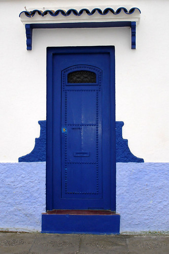 Asilah - blue door