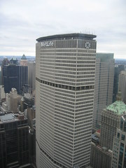 MetLife Building from Chrysler Building by caspermoller, on Flickr