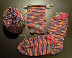STR - Fire on the Mountain Socks 2