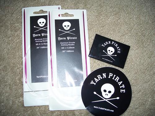 Yarn Pirate Club goodies