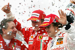 Formula 1 Grand Prix, Brazil, Sunday Podium