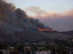 Canyon Country Fire 10-21-07