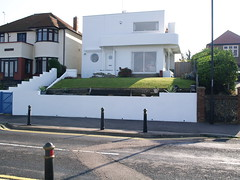 Herne Bay deco 23 (FrMark) Tags: uk windows winter england white house home modern century kent seaside britain balcony smooth modernism moderne clean porthole gb british c20 deco 20th contrejour modernist hernebay twentieth uncluttered hernebayreculver
